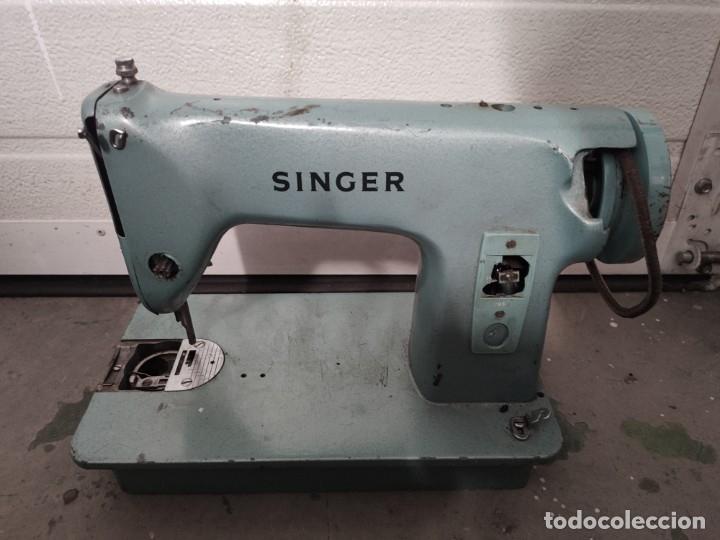MAQUINA DE COSER SINGER (Antigüedades - Técnicas - Máquinas de Coser Antiguas - Singer)