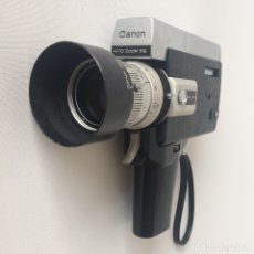 Antigüedades: CÁMARA CANON AUTO ZOOM 518 SUPER 8 - CON MALETÍN - MADE IN JAPAN. Lote 174046947