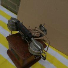 Teléfonos: ANTIGUO TELÉFONO DE MANIVELA SIGLO XIX. Lote 174057790