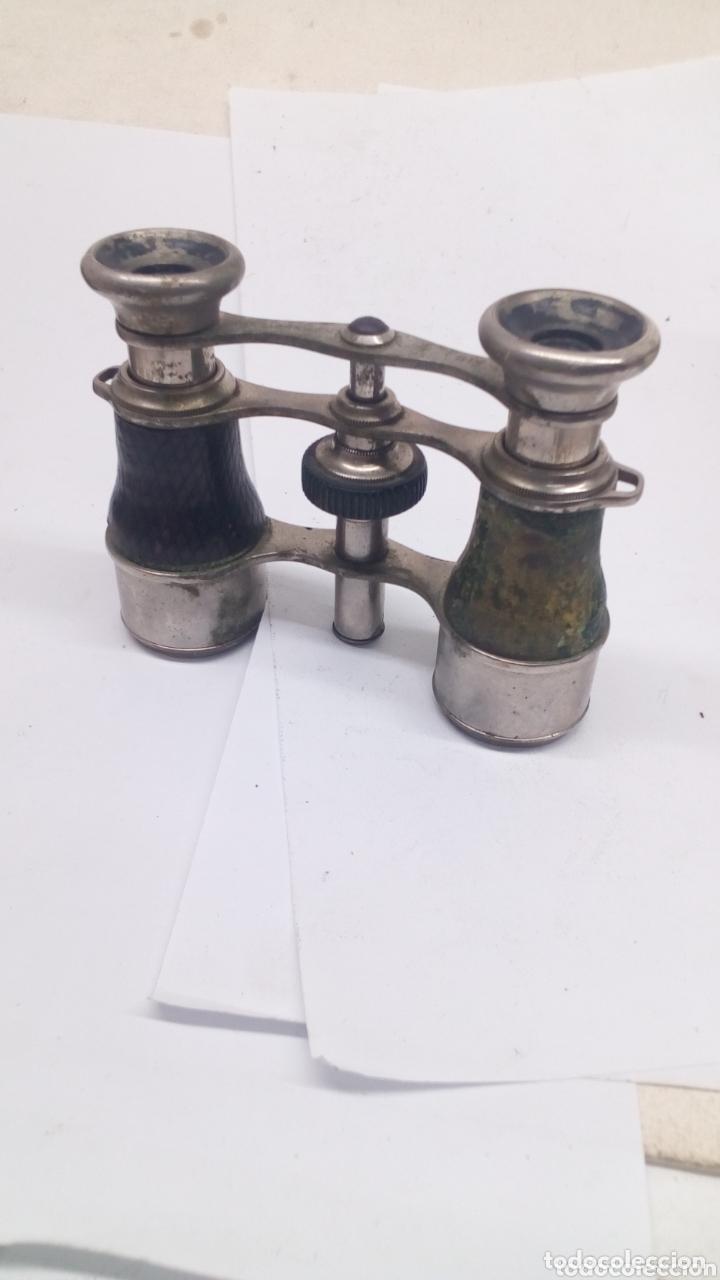 ANTEOJOS ANTIGUOS (Antigüedades - Técnicas - Instrumentos Ópticos - Binoculares Antiguos)