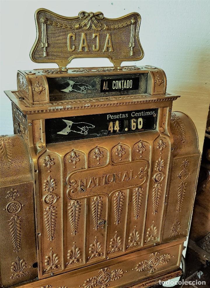 Antigüedades: CAJA REGISTRADORA NATIONAL - Foto 5 - 174090900