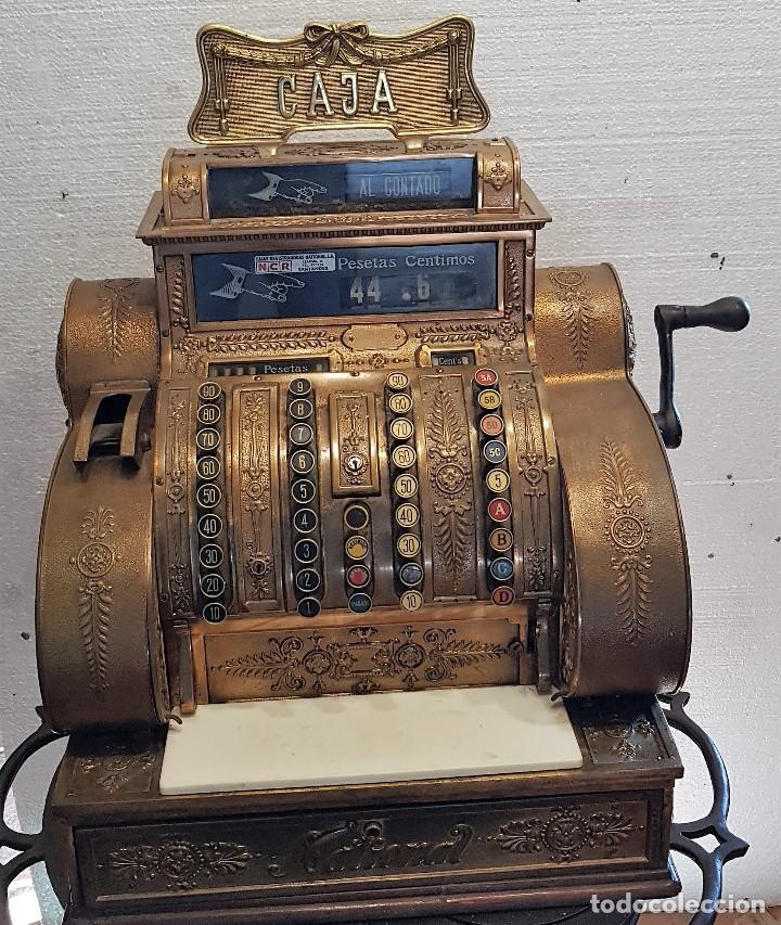 CAJA REGISTRADORA NATIONAL (Antigüedades - Técnicas - Aparatos de Cálculo - Cajas Registradoras Antiguas)