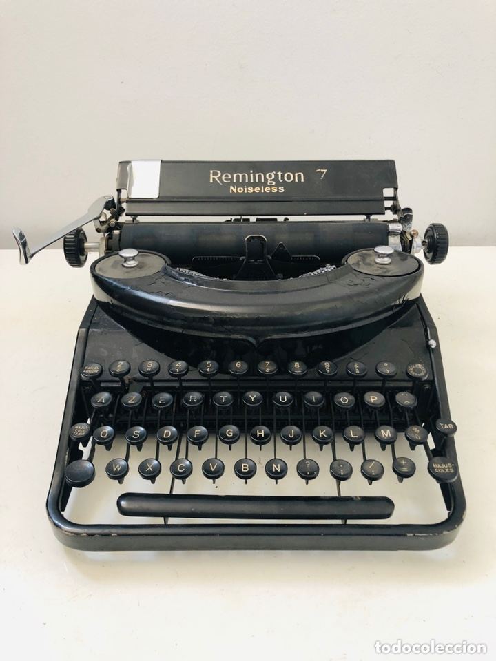 Antigüedades: Remington 7 Noiseless Typewriter - Foto 2 - 174092199