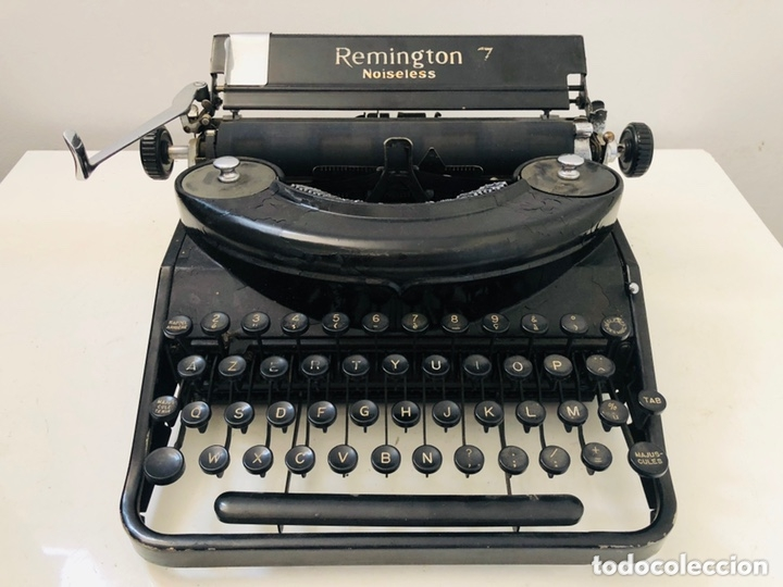 Antigüedades: Remington 7 Noiseless Typewriter - Foto 3 - 174092199