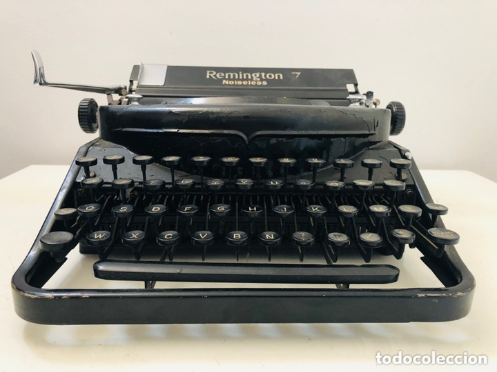 Antigüedades: Remington 7 Noiseless Typewriter - Foto 4 - 174092199