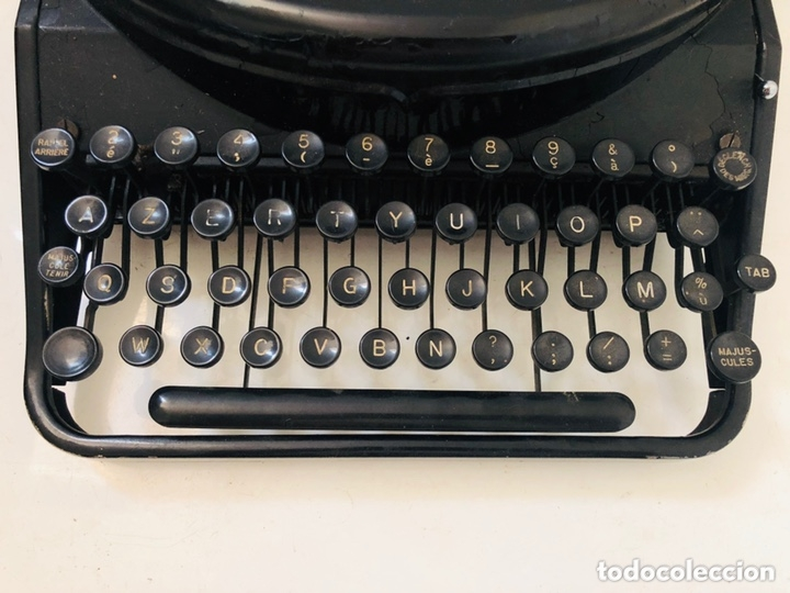 Antigüedades: Remington 7 Noiseless Typewriter - Foto 5 - 174092199