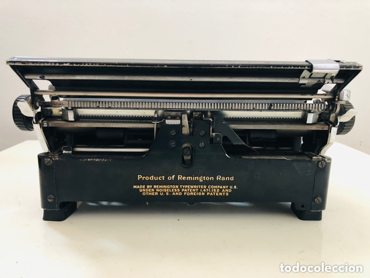 Antigüedades: Remington 7 Noiseless Typewriter - Foto 11 - 174092199