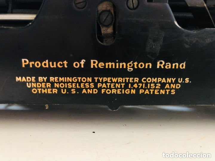 Antigüedades: Remington 7 Noiseless Typewriter - Foto 12 - 174092199
