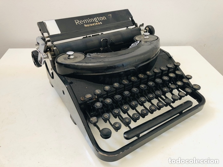 Antigüedades: Remington 7 Noiseless Typewriter - Foto 1 - 174092199
