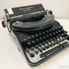 Antigüedades: REMINGTON 7 NOISELESS TYPEWRITER. Lote 174092199