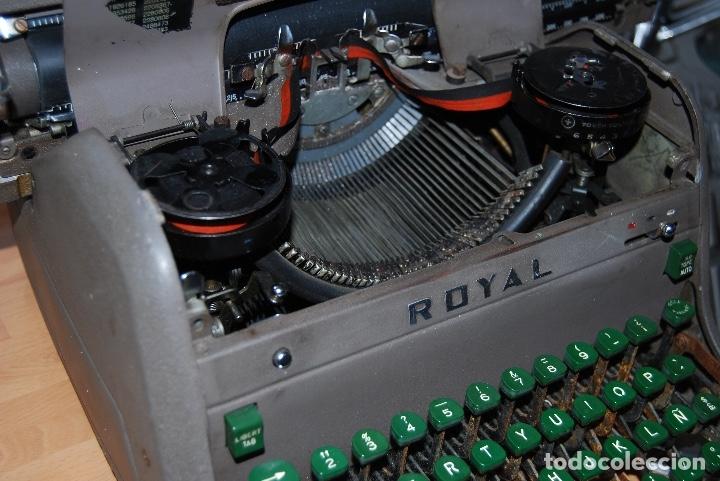 MAQUINA DE ESCRIBIR ANTIGUA (Antigüedades - Técnicas - Máquinas de Escribir Antiguas - Royal)