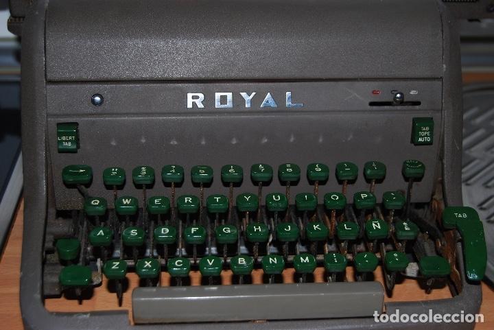 Antigüedades: Maquina de Escribir Antigua - Foto 2 - 174093000