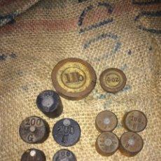 Antigüedades: LOTE DE PESOS RAROS ANTIGUOS!. Lote 174103165