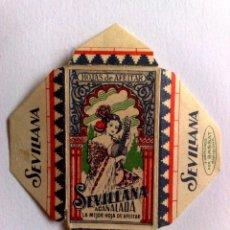 Antigüedades: HOJA DE AFEITAR ANTIGUA,SEVILLANA-ACANALADA. Lote 174149903