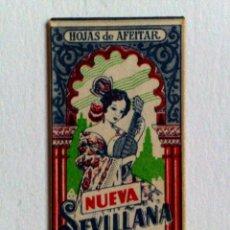 Antigüedades: HOJA DE AFEITAR ANTIGUA,NUEVA SEVILLANA. Lote 174149998