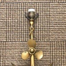 Antigüedades: ANTIGUA LÁMPARA NÁUTICA , CON ANCLA Y HÉLICE. Lote 174229713