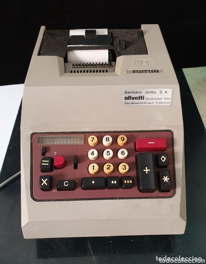 REGISTRADORA OLIVETI (Antigüedades - Técnicas - Aparatos de Cálculo - Cajas Registradoras Antiguas)