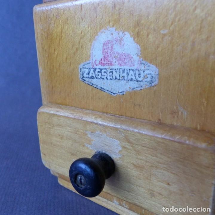 Antigüedades: Molinillo de Cafe de Zassenhaus. Alemania 1930 - 1940 - Foto 2 - 174323657