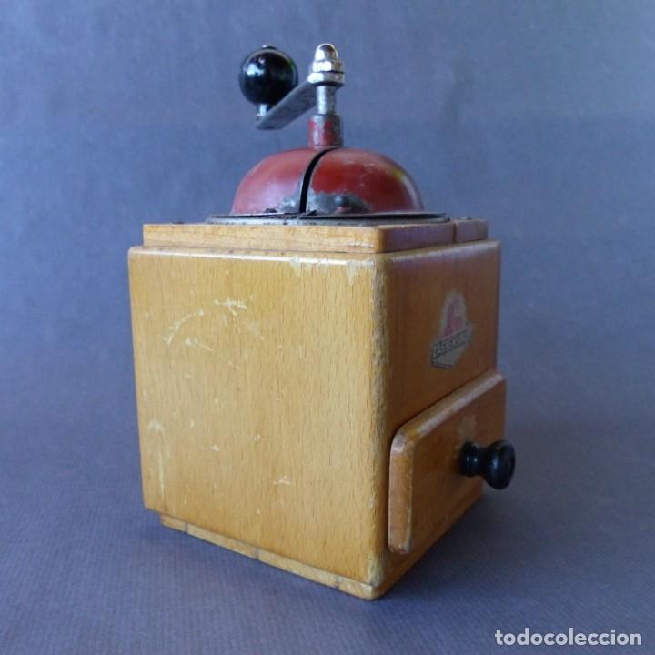 Antigüedades: Molinillo de Cafe de Zassenhaus. Alemania 1930 - 1940 - Foto 3 - 174323657