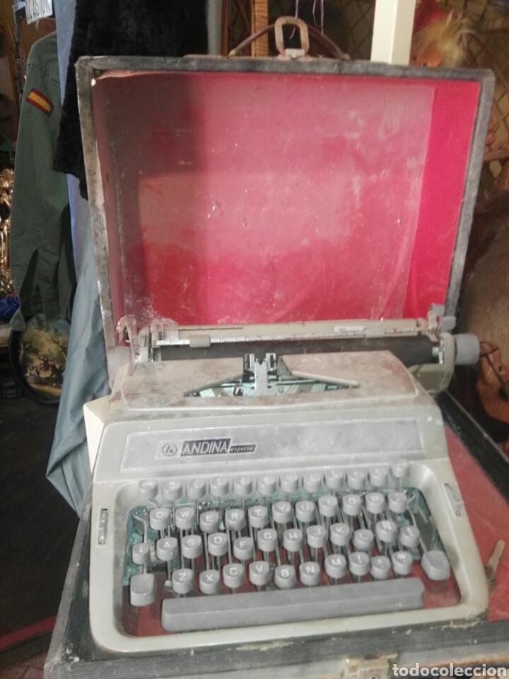 ANDINA ESPECIAL CON FUNDA (Antigüedades - Técnicas - Máquinas de Escribir Antiguas - Otras)