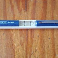 Antigüedades: NIVEL DE BOLSILLO STANLEY MODELO 42-189. ANTIGUO PERO EN BUEN ESTADO DE CONSERVACIÓN.. Lote 174443467