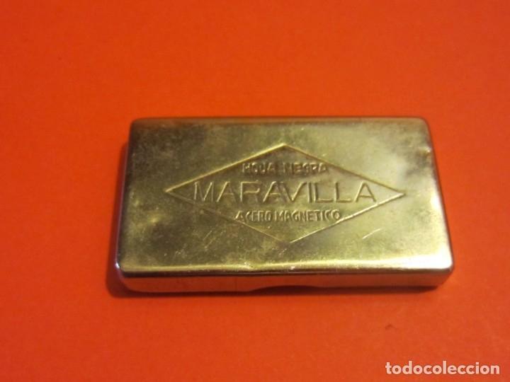 Antigüedades: Caja para cuchillas MARAVILLA. - Foto 2 - 174459059