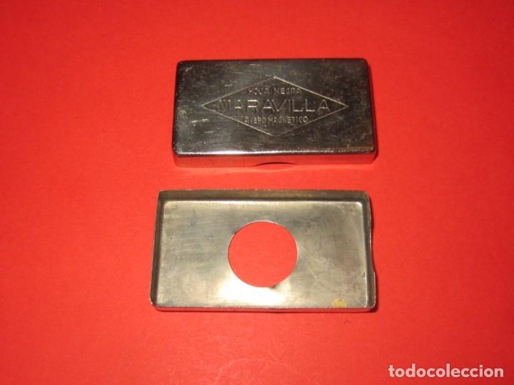 Antigüedades: Caja para cuchillas MARAVILLA. - Foto 4 - 174459059