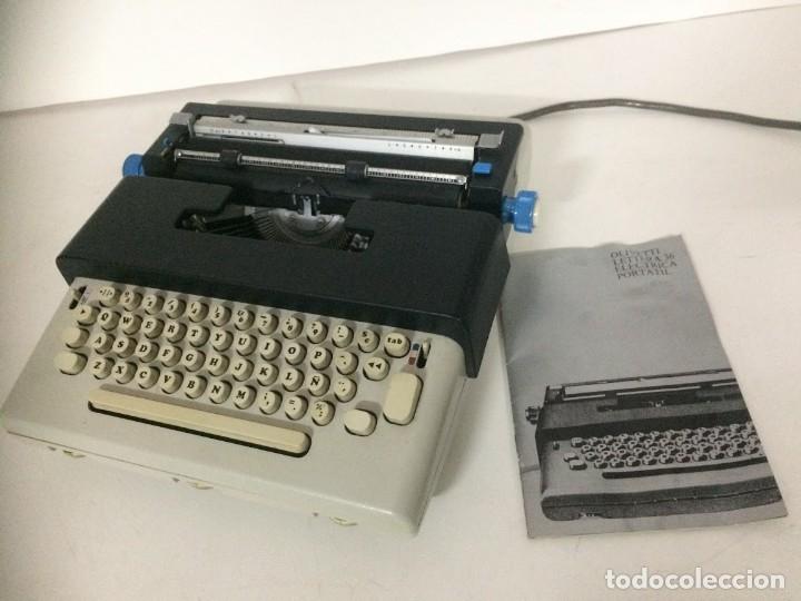 Antigüedades: Maquina de escribir electrica Olivetti Lettera 36 - Foto 4 - 174461297