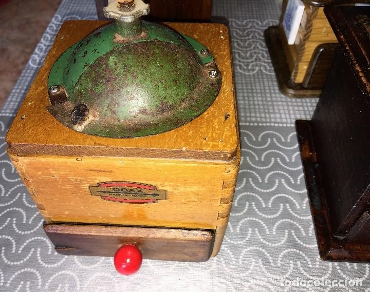 Antigüedades: 17 Molino Molinillo de cafe, pimienta y salero, firmas Leinbrocks Jdeal, Zassenhaus, Peter Dienes... - Foto 6 - 174505680