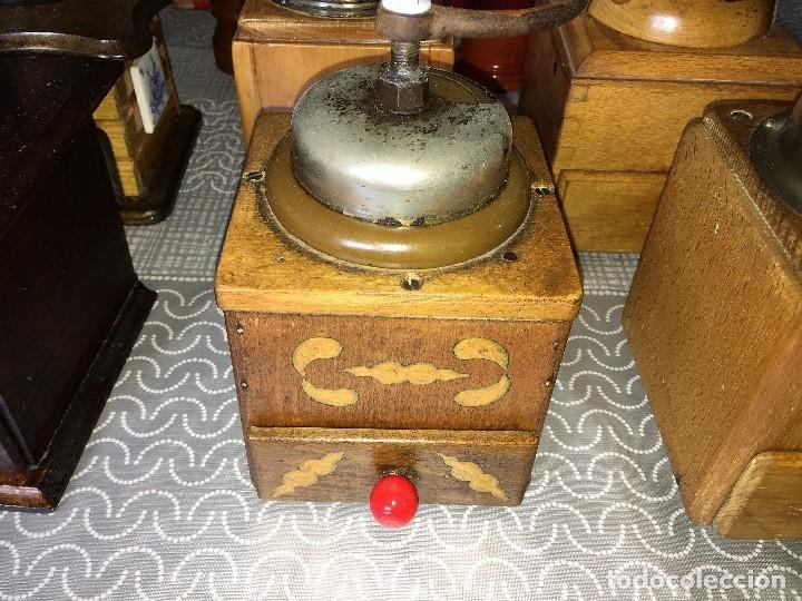 Antigüedades: 17 Molino Molinillo de cafe, pimienta y salero, firmas Leinbrocks Jdeal, Zassenhaus, Peter Dienes... - Foto 8 - 174505680