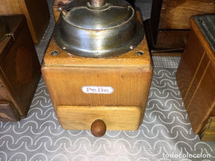 Antigüedades: 17 Molino Molinillo de cafe, pimienta y salero, firmas Leinbrocks Jdeal, Zassenhaus, Peter Dienes... - Foto 9 - 174505680