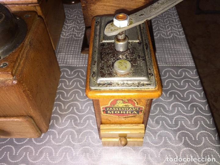 Antigüedades: 17 Molino Molinillo de cafe, pimienta y salero, firmas Leinbrocks Jdeal, Zassenhaus, Peter Dienes... - Foto 10 - 174505680