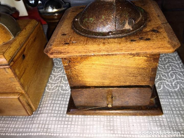 Antigüedades: 17 Molino Molinillo de cafe, pimienta y salero, firmas Leinbrocks Jdeal, Zassenhaus, Peter Dienes... - Foto 11 - 174505680