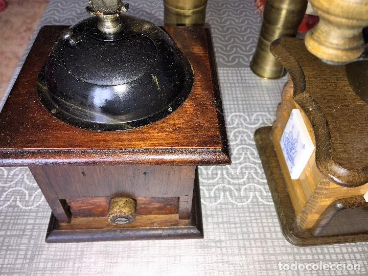 Antigüedades: 17 Molino Molinillo de cafe, pimienta y salero, firmas Leinbrocks Jdeal, Zassenhaus, Peter Dienes... - Foto 15 - 174505680