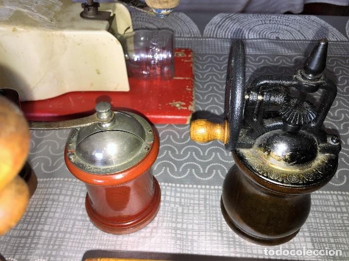 Antigüedades: 17 Molino Molinillo de cafe, pimienta y salero, firmas Leinbrocks Jdeal, Zassenhaus, Peter Dienes... - Foto 18 - 174505680
