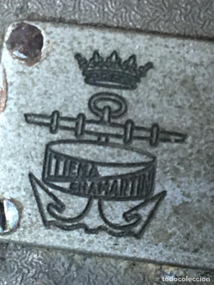 Antigüedades: Antigua alidada óptica (azimutal) naval. Ltiema Chamartín. Armada española - Foto 18 - 174587783