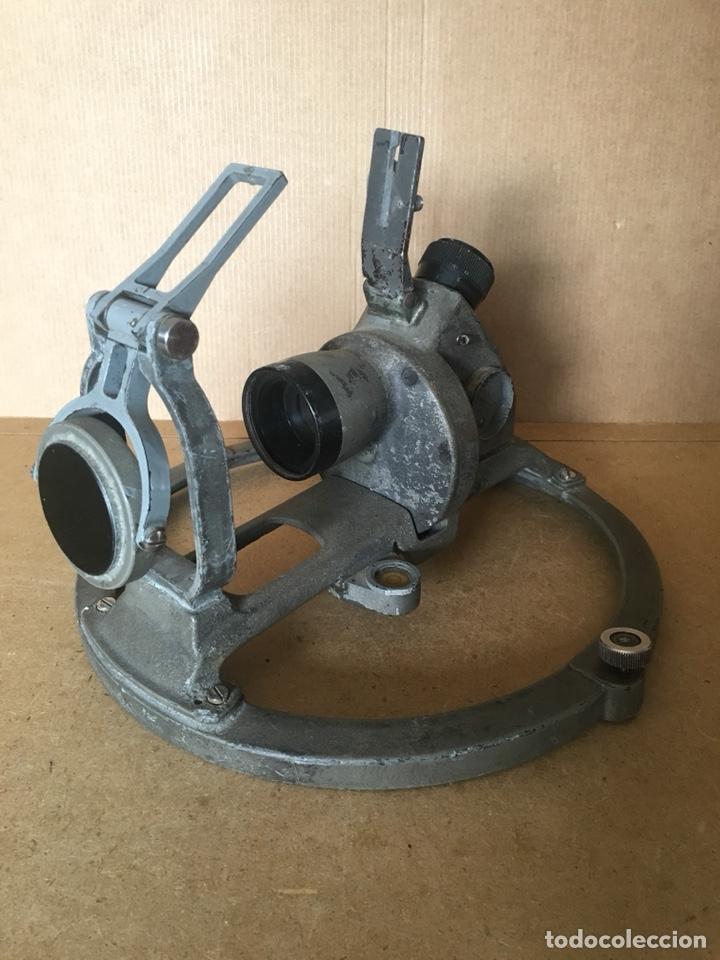 Antigüedades: Antigua alidada óptica (azimutal) naval. Ltiema Chamartín. Armada española - Foto 25 - 174587783