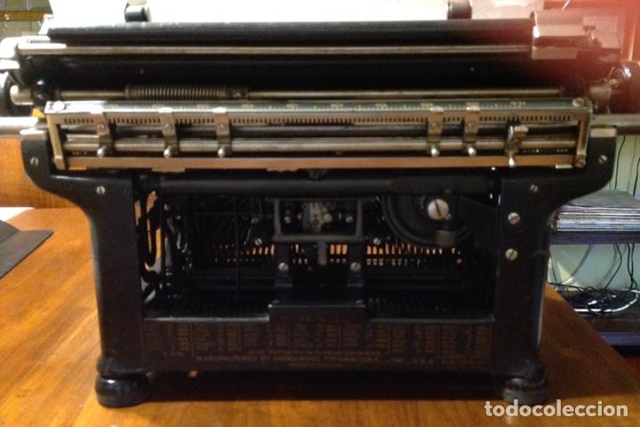 Antigüedades: Maquina de escribir UNDERWOOD. Revisada, funcionando (Made in USA, 1924) - Foto 5 - 174605562