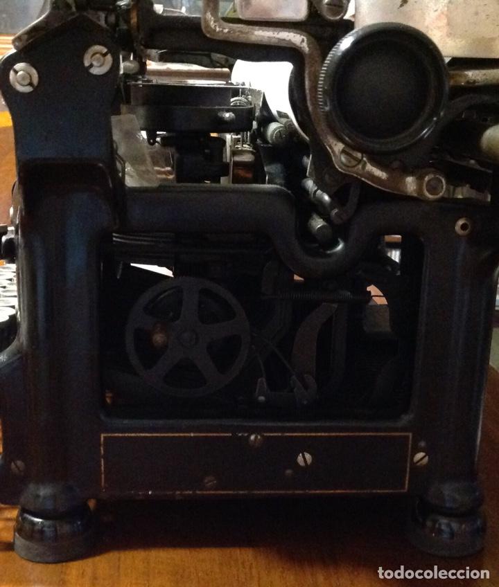 Antigüedades: Maquina de escribir UNDERWOOD. Revisada, funcionando (Made in USA, 1924) - Foto 6 - 174605562