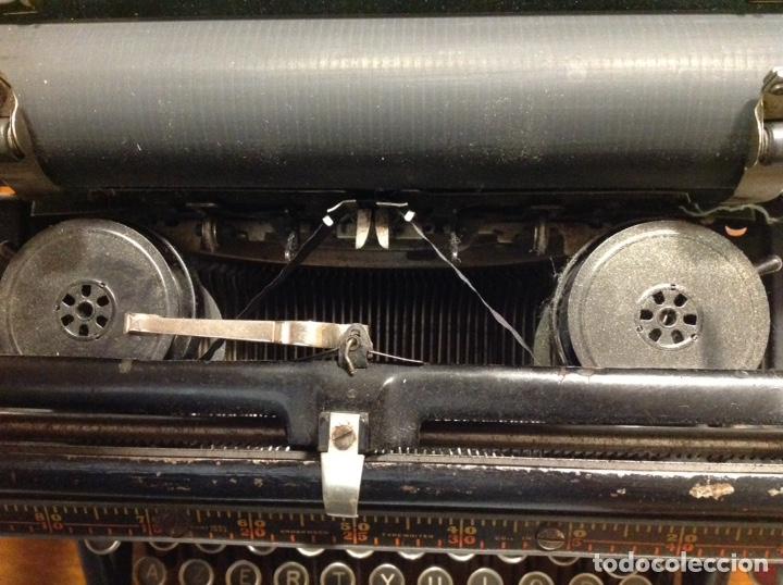Antigüedades: Maquina de escribir UNDERWOOD. Revisada, funcionando (Made in USA, 1924) - Foto 7 - 174605562
