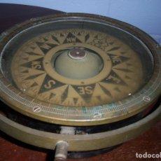 Antigüedades: COMPAS ANTIGUO DE BARCO ALEMAN DE 1938 EN BUEN ESTADO. Lote 174954569