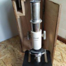 Antigüedades: MICROSCOPIO RAM PARIS. Lote 175022404