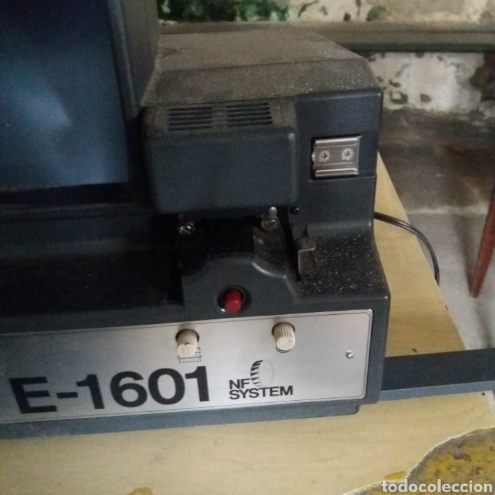 Antigüedades: EDITOR VISIONADOR 8MM ERNO E-1601 - Foto 2 - 175036478