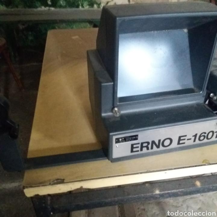 Antigüedades: EDITOR VISIONADOR 8MM ERNO E-1601 - Foto 3 - 175036478