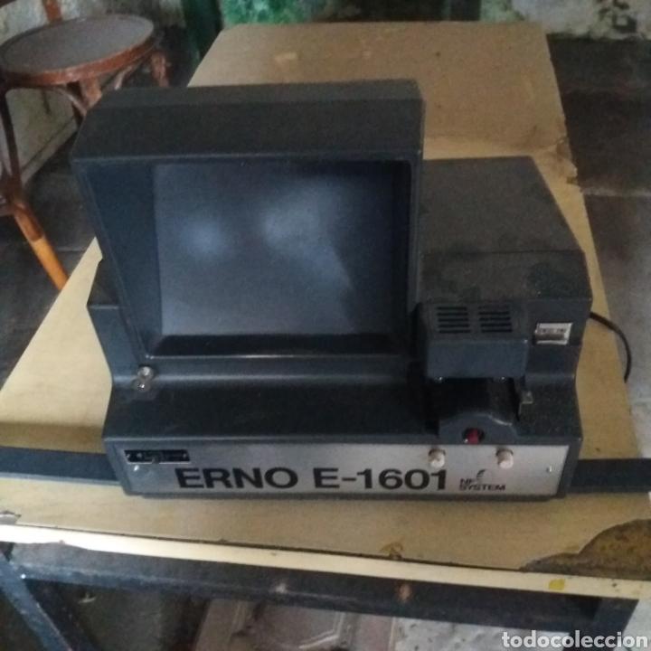 EDITOR VISIONADOR 8MM ERNO E-1601 (Antigüedades - Técnicas - Aparatos de Cine Antiguo - Cámaras de Super 8 mm Antiguas)