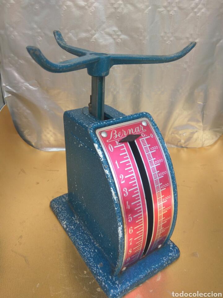 Antigüedades: ANTIGUA BALANZA PESO BERNAR 10 KGS.VER FOTOS Y DESCRIPCIÓN - Foto 4 - 251609270