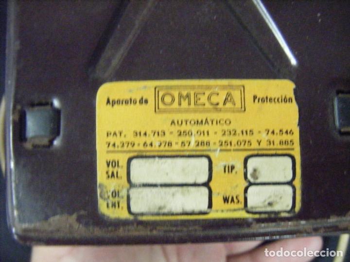 Antigüedades: JML TRANSFORMADOR REGULADOR ELECTRICIDAD OMECA 125V PARA RADIOS A VÁLVULAS. VER FOTOS. - Foto 3 - 191800337