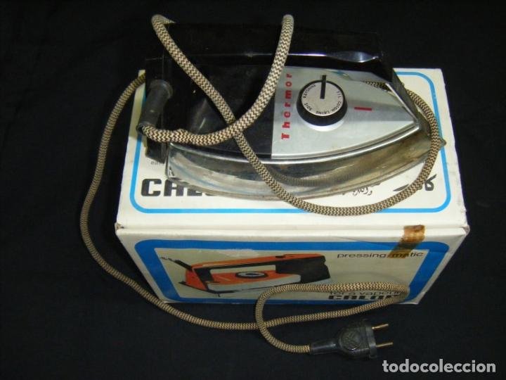 Antigüedades: JML PLANCHA ELECTRICA THERMOR CALOR, VER FOTOS VINTAGE AÑOS 50 - Foto 2 - 175071547