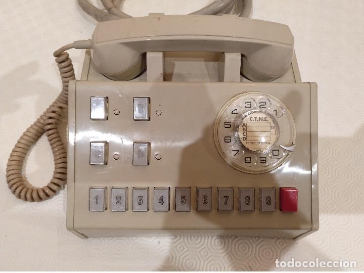 CENTRALITA TELEFONICA VINTAGE. TELEFONICA ESPAÑOLA. AÑOS 70 80. (Antigüedades - Técnicas - Teléfonos Antiguos)