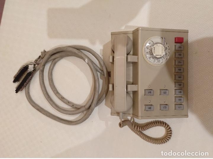 Teléfonos: CENTRALITA TELEFONICA VINTAGE. TELEFONICA ESPAÑOLA. AÑOS 70 80. - Foto 2 - 175077163